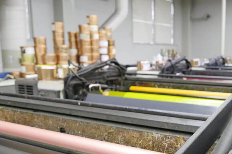 オフセット印刷機械のイメージ