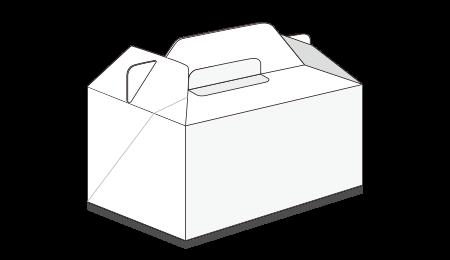 ケーキ箱(キャリー式)